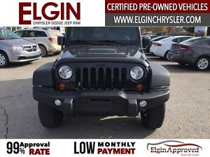 2013 Jeep Wrangler Unlimited Sahara***Leather,Navi,4x4,Low Kms** London Ontario image 2