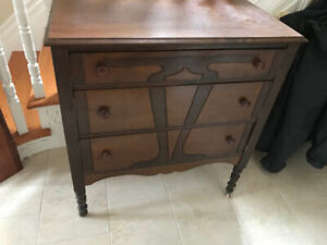 ANTIQUE DRESSER (**needs work**)