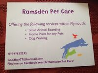Ramsden Pet Care (Rabbits, Dogs, Cats, Pet Care)