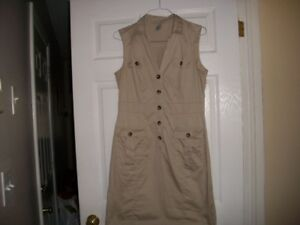 Shirtdress fits size 10   REDUCED