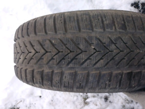 1x pneu hiver 195/55R15