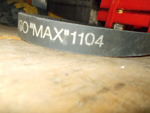 New Old Stock 1104 Dayco Max snowmobile drive belt