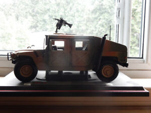 A Toy Army Humvee 9.3/4 by 4.5 inches. Never played with