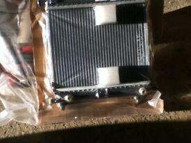 Mercedes Radiator