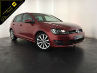 2014 VOLKSWAGEN GOLF GT BLUEMOTION TECH TDI 1 OWNER VW SERVICE HISTORY FINANCE