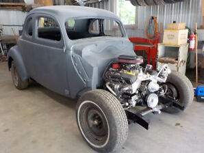 1937 FORD COUPE ALL STEEL BODY