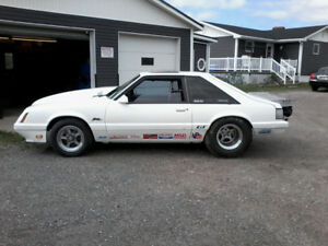 1986 fox body mustang prostreet or drag race