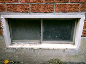 Reliance basement window install