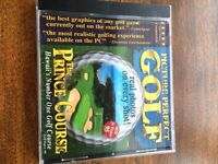 Golf the prince course cd