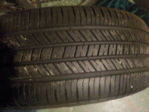 Good year all season tire top shaped ( 1 tire only)  obo