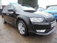 2014 64 SKODA OCTAVIA 1.6 BLACK EDITION TDI CR 5DR 105 BHP FINANCE WITH NO DEPOS