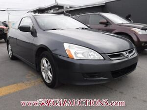 2007 HONDA ACCORD  2D COUPE
