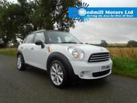 2011/11 MINI COUNTRYMAN 1.6 COOPER (PEPPER) 5DR WHITE - HUGE SPEC!