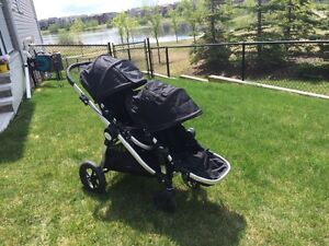 City select double stroller with 2nd seat - copperfield