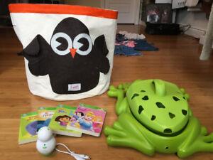 Leap Frog  et  rangements jouets