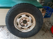 Tyre and rim,  15 inch Brinsmead Cairns City Preview