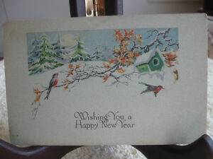 An OLD VINTAGE AMERICAN-MADE POST CARD COLLECTIBLE