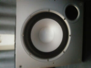 "10"" Polk Audio Powered Sub Woofer"