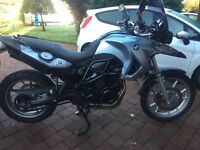 BMW 650 GS motorbike 800cc