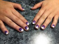 BEAUTIFUL SHELLAC NAILS!! GREAT PRICES