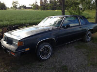 1987 Oldsmobile cutlass supreme  sell or trade