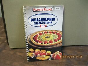 FAVORITE RECIPES PHILADELPHIA CREAM CHEESE   KRAFT Oakville / Halton Region Toronto (GTA) image 1