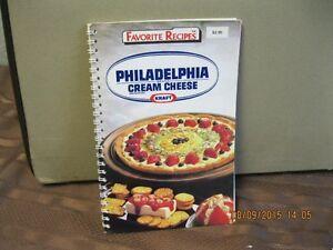 FAVORITE RECIPES PHILADELPHIA CREAM CHEESE   KRAFT Oakville / Halton Region Toronto (GTA) image 1