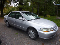 2002 Honda Accord Berline