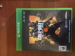Black Ops 4 Xbox One game for sale and up for trade