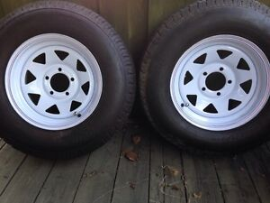 Trailer tires and rims NEW
