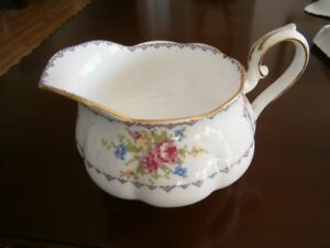 LARGE ROYAL ALBERT PETIT POINT CHINA JUG