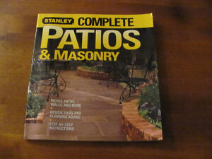 Brand New PATIOS and MASONRY BOOK