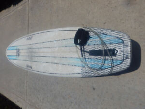 Quick Sale! As New 6'10 BruSurf Surfboard, leash & carry bag!