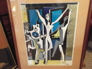 """""""The Three Dancers"""" Picasso (REDUCED)"""