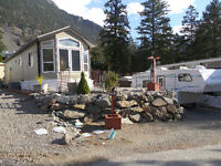 RV lot with Park Model home