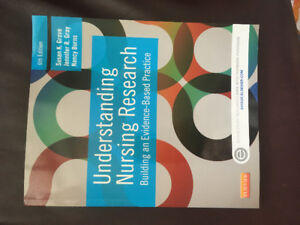 BRAND NEW Understanding Nursing Research (6th edition)