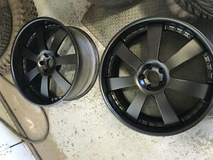 "HRE 22"" Black 3 piece mags - Negotiable"