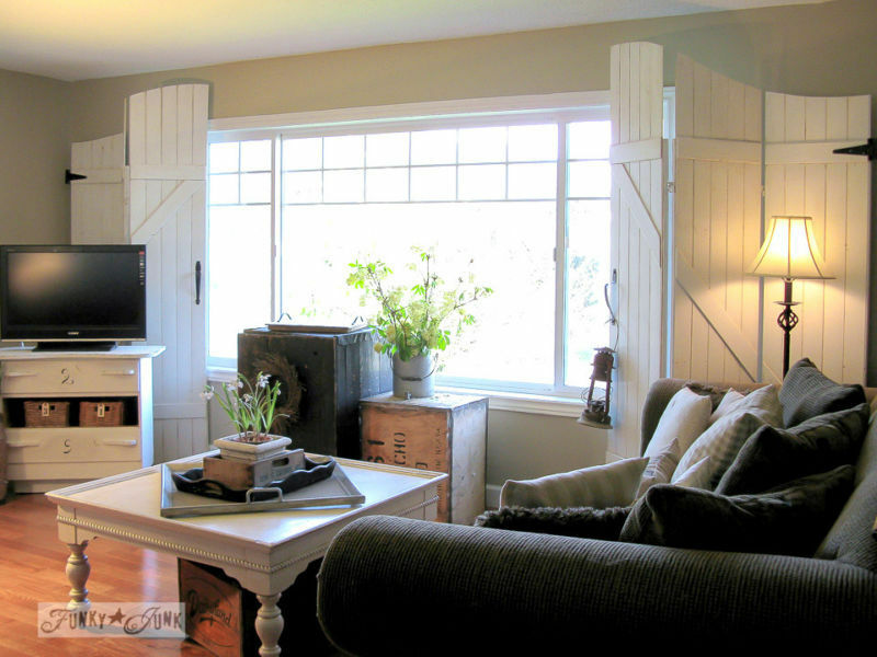 Create old gate screen window treatments / part of 5 beautifully unique window treatments you can make yourself, by Funk