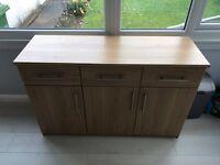 Light oak Dresser