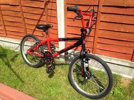 """Bmx bike 20"""" wheels fully working"""
