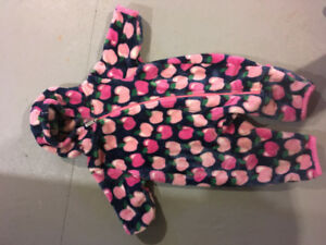 9-12 months Hatleys barely used girls winter onesies