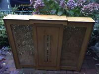 Free radiator cover wooden oak