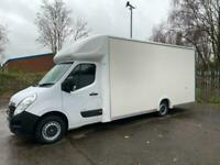 2019 19 EXTRA LONG LARGEST POSSIBLE LO LOADER VAUXHALL MOVANO LUTON VAN 17FT BOX