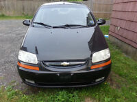 2006 Chev Aveo Hatchback, incl winter tires NEW LOWER PRICE
