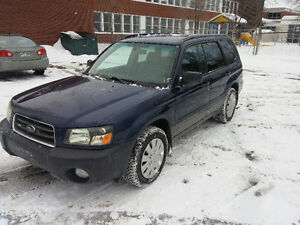 2005 forester Auto toute equipe 2.5X AWD