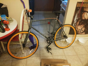 Never Ridden Critical Cycles Fixed-Gear / Single-Speed Bike 60CM