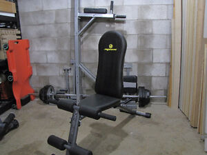 Folding Flat to Incline Weight Bench
