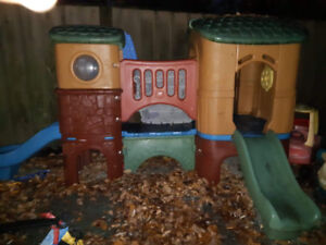 Good Condition Used Step 2 Clubhouse Climber