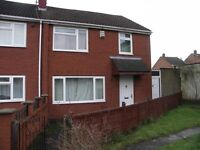 £795pcm 3 Bedroom End of Terrace House to Let in Hartcliffe. Wymbush Gardens, white goods included.