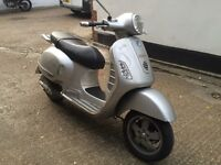 2005 Piaggio Vespa GT 200cc scooter with 1 years MOT.